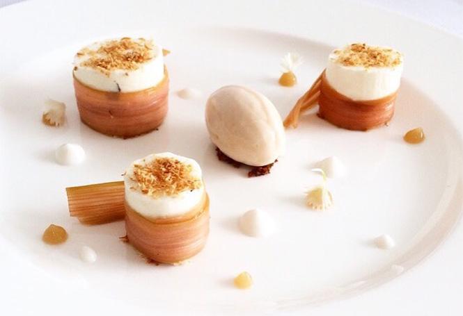 Restaurant l'impératif dessert Benoît Neusy