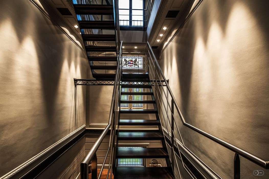 Hôtel d'Arondeau cage d'escalier