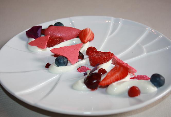 Dessert de l'impératif au Domaine D'Arondeau
